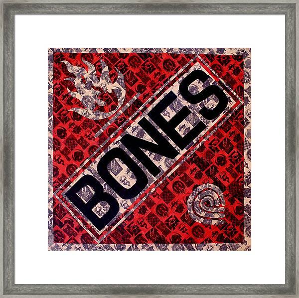 Bones Framed Print