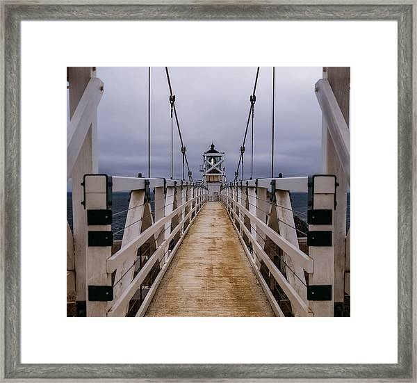 Bonita Point Lighthouse Framed Print