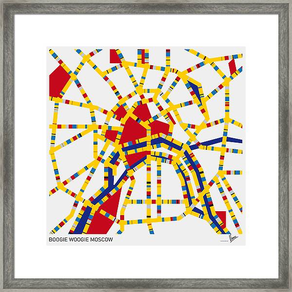 Boogie Woogie Moscow Framed Print