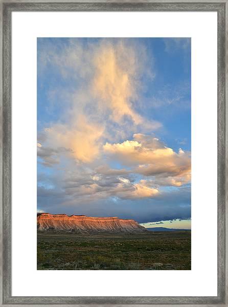 Bookcliffs 170 Framed Print
