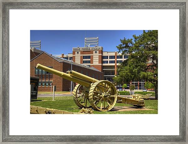 Booming Campus Framed Print