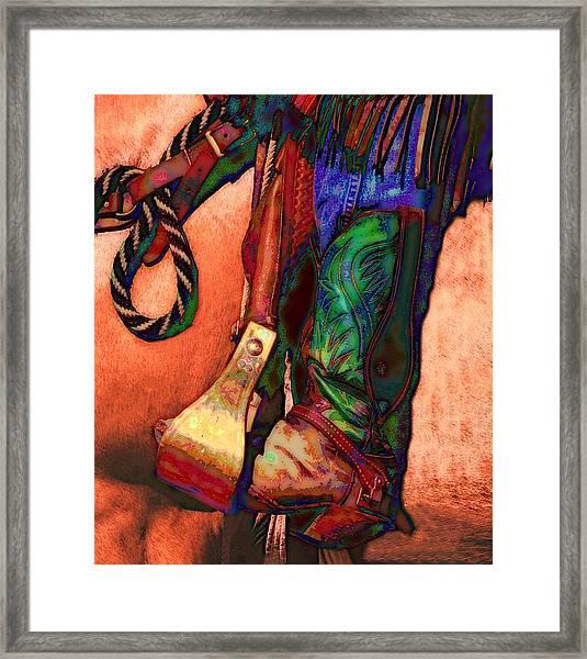 Boot Framed Print