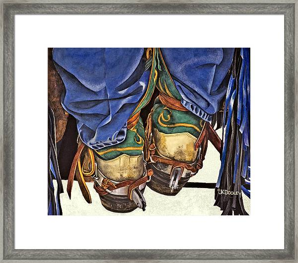 Boot Scoot Framed Print