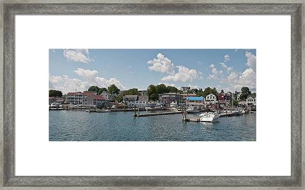 Boothbay Harbor 1242 Framed Print