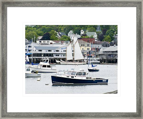 Boothbay Harbor Framed Print