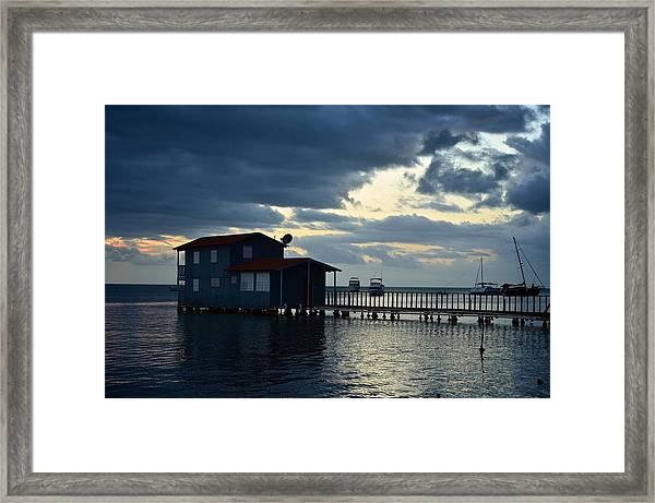 Boqueron 5034 Framed Print