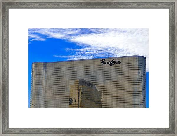 Borgata Framed Print
