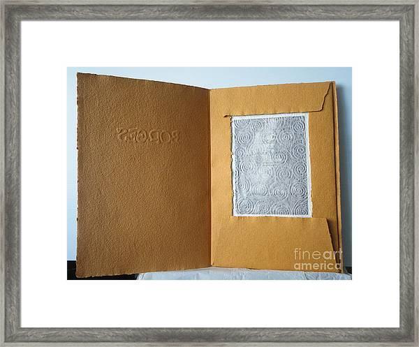 Borges - El Hecho Estetico Framed Print