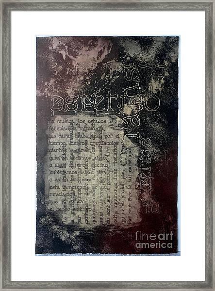 Borges 5 Framed Print