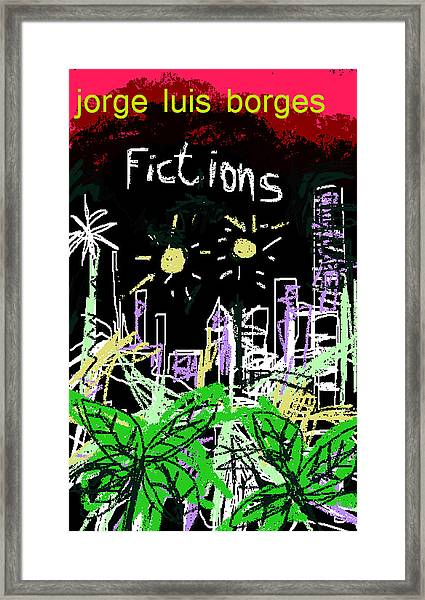 Borges Fictions Poster  Framed Print