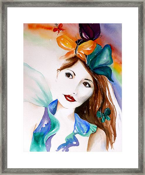 Born To Fly Framed Print