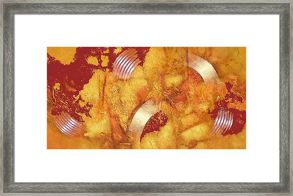 Bossini Rings Framed Print by Clive Holden