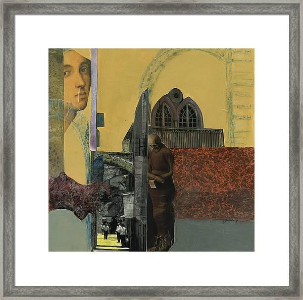 Bouganvillia Framed Print