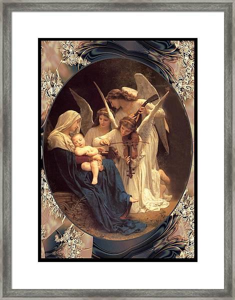 Bouguereau Vintage Angels 2 Framed Print