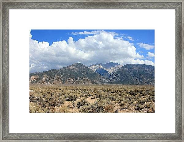 Boundary Peak  Framed Print