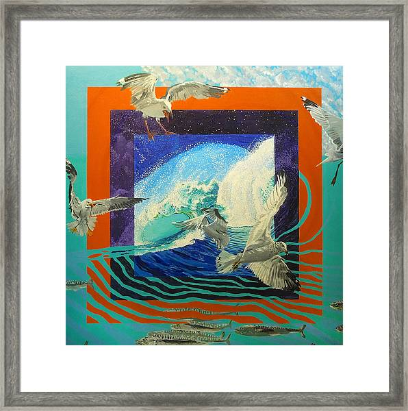 Boundary Series Ix Framed Print