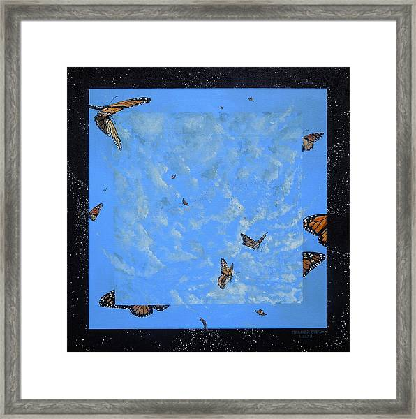 Boundary Series V Framed Print