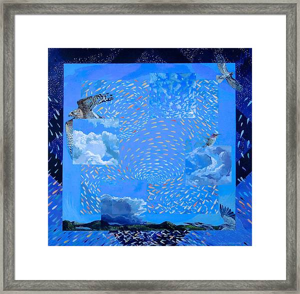 Boundary Series Vii Framed Print