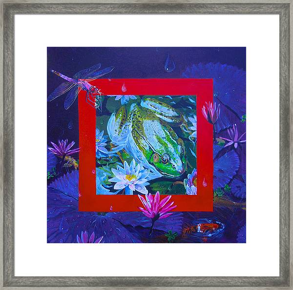 Boundary Series Xii Framed Print