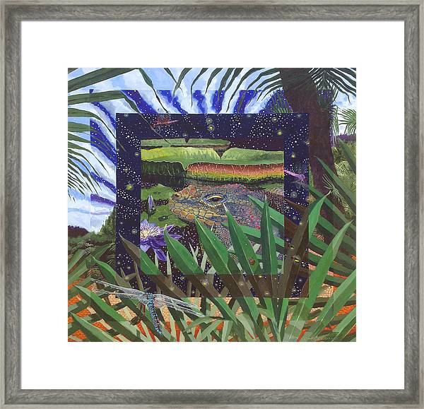 Boundary Series Xiii Framed Print