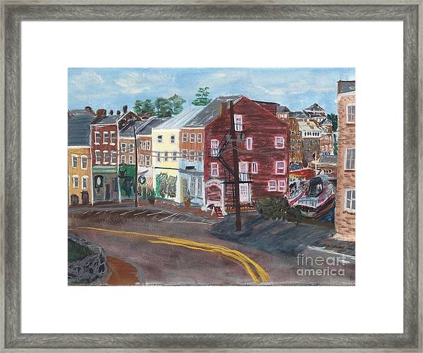 Bow Street Number 2 Framed Print
