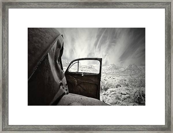 Box Seats Framed Print
