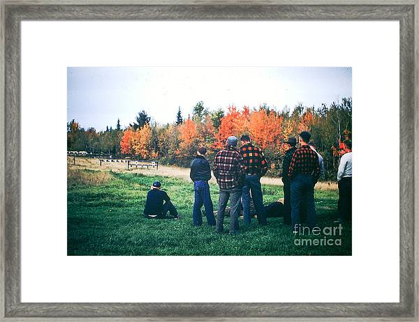 Boys Afternoon. Framed Print