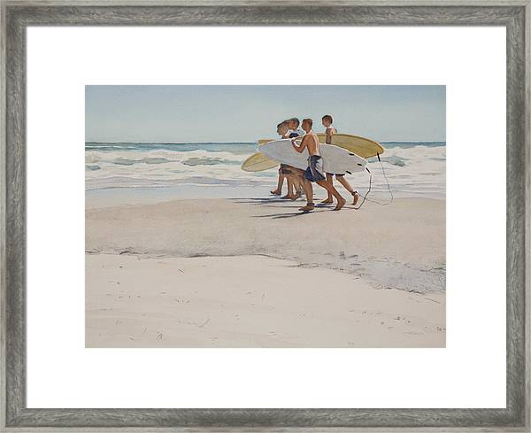 Boys Of Summer Framed Print