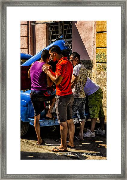 Boys Will Be Boys Framed Print