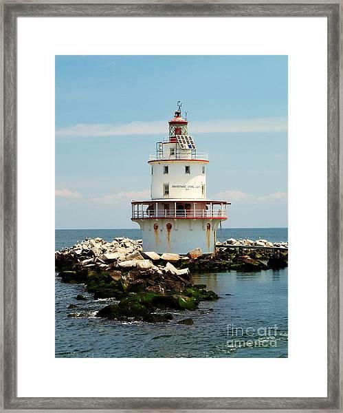 Brandywine Shoal  Lighthouse Framed Print