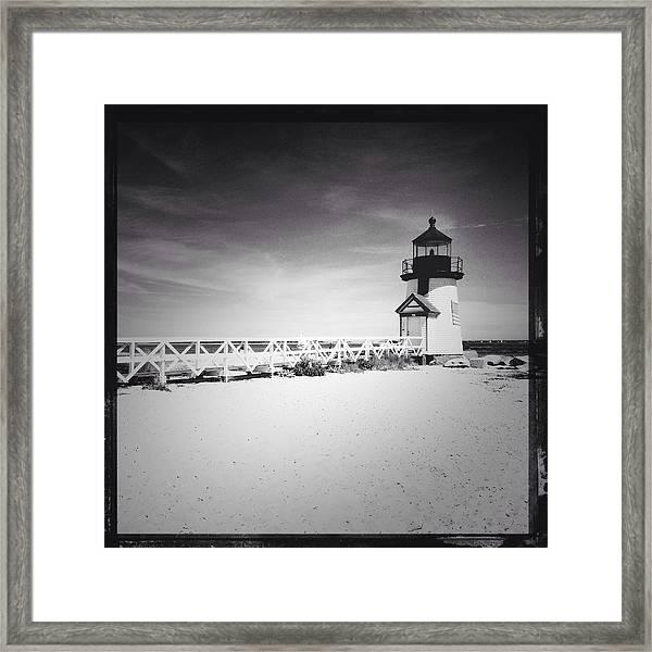 Brant Point Lighthouse Framed Print
