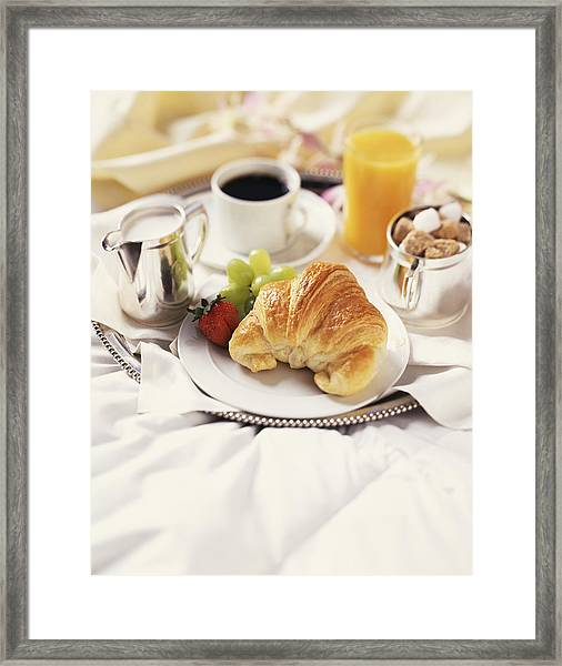 Breakfast In Bed Framed Print by Armstrong Studios