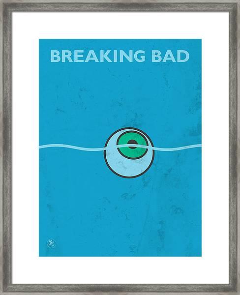 Breaking Bad - Floating Eyeball Framed Print