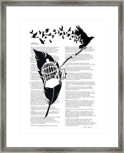Breaking Free Framed Print