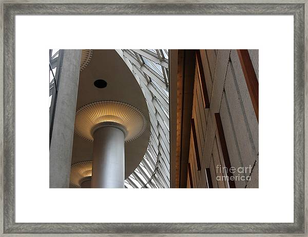 Breath Taking Beauty Architecture Framed Print