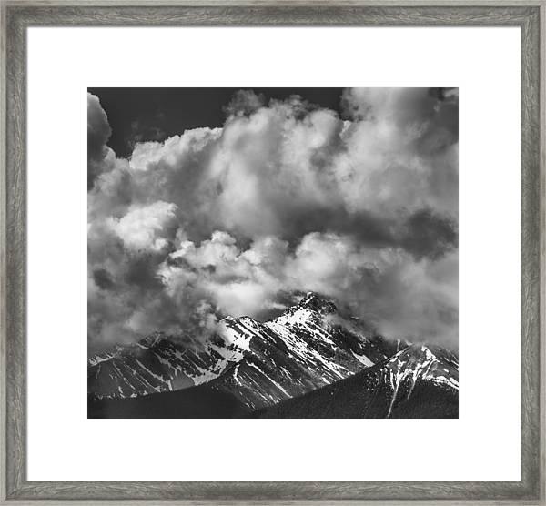 Breathe Out Framed Print