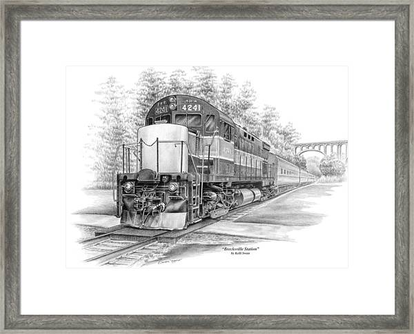 Brecksville Station - Cuyahoga Valley National Park Framed Print