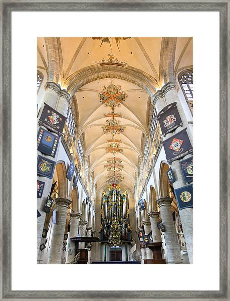 Breda Cathedral Framed Print