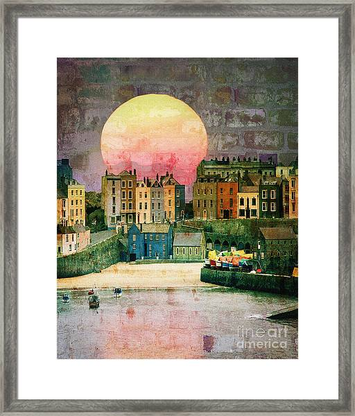 Bricks And Mortar Framed Print