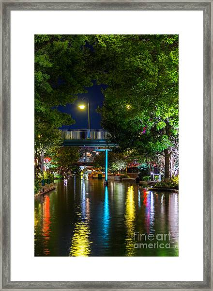 Bricktown Framed Print