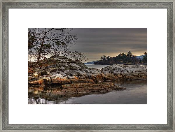 Framed Print featuring the photograph Tranquil Waters by Randy Hall