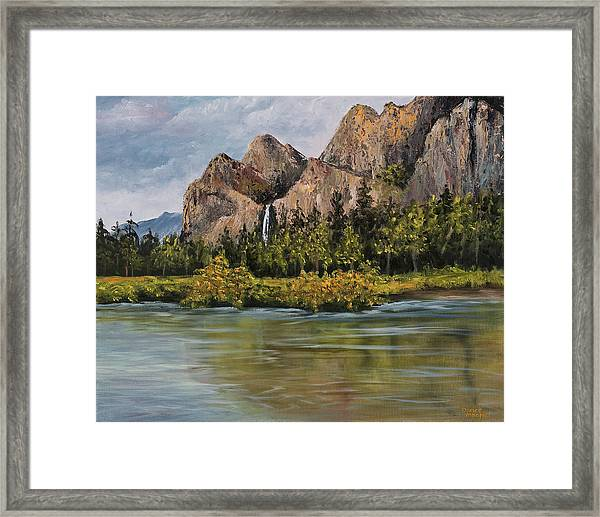 Bridalveil Fall Yosemite Framed Print