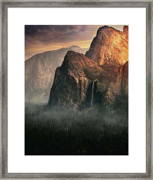 Bridalveil Fall, Yosemite Framed Print
