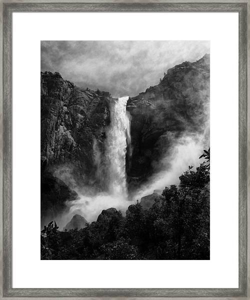 Bridalveil Falls Framed Print