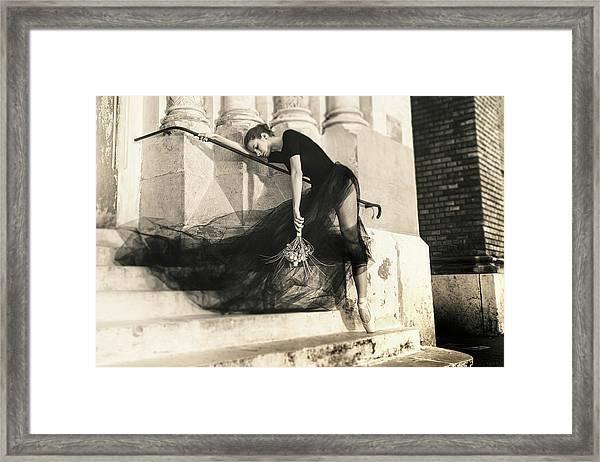 Bride Fears Framed Print