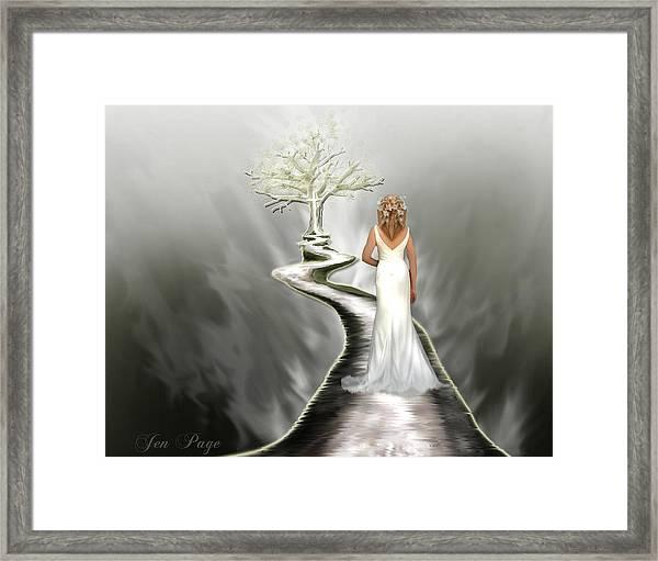 Bride Of Christ Framed Print