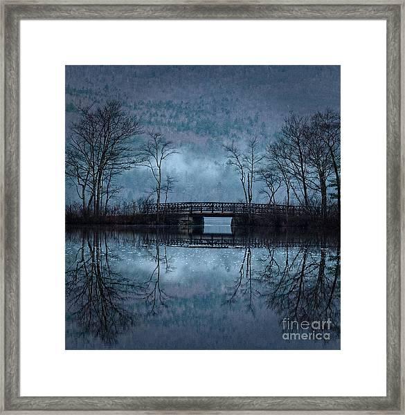 Bridge At Chocorua Framed Print