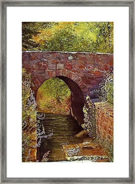 Bridge At Manitou Springs Framed Print