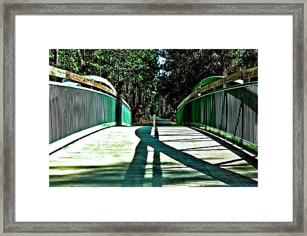 Bridge Of Shadows Framed Print