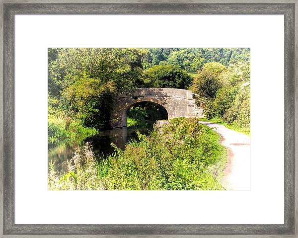 Bridge Over Still Waters Framed Print